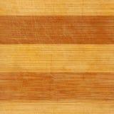 Madeira de bambu sem emenda textura realística riscada da placa Fotos de Stock