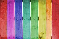 Madeira de Colorate Imagem de Stock Royalty Free