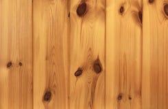 Madeira de pinho escura Fotografia de Stock