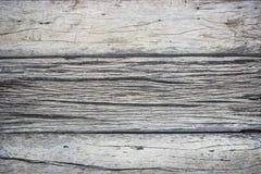 Madeira de madeira toda do marrom da prancha antiguidade rachada Foto de Stock Royalty Free