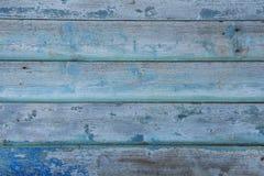 A madeira do azul do vintage Imagem de Stock Royalty Free