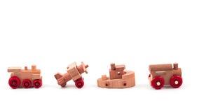 Madeira do brinquedo Imagem de Stock Royalty Free