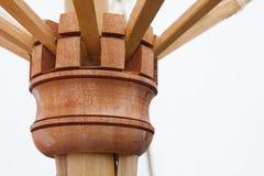 Madeira do guarda-chuva Fotos de Stock Royalty Free