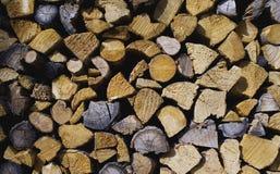 Madeira do incêndio Foto de Stock