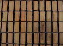 A madeira do retângulo remenda a textura Foto de Stock