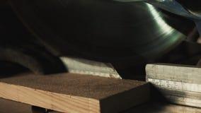 Madeira do sawing Close-up filme
