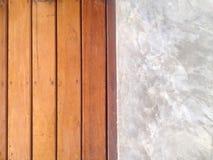 madeira e conceate Imagem de Stock Royalty Free