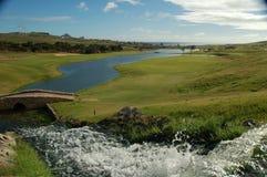 Madeira: El campo de golf de Oporto hace a Santo Fotos de archivo libres de regalías