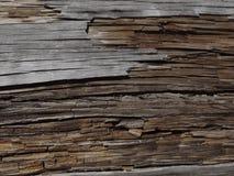 Madeira envelhecida Fotografia de Stock