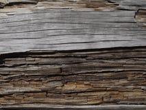 Madeira envelhecida 2 Fotografia de Stock