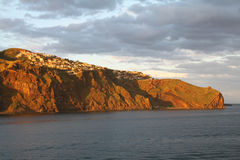 Madeira in the evening sun Stock Photography