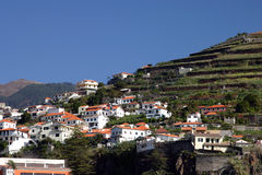 Madeira, Fischerdorf Stockfotografie