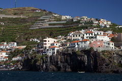 Madeira, fisherman village Royalty Free Stock Image