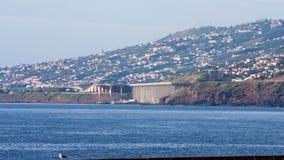 Madeira-Flughafen lizenzfreie stockbilder