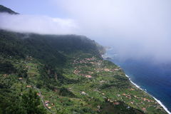 Madeira green coast Royalty Free Stock Image