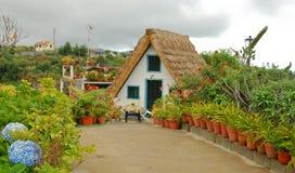 Madeira-Haus Lizenzfreie Stockfotos