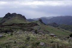 Madeira high mountains Stock Image