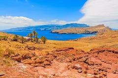 Madeira hiking - Casa di Sardinha - Ponta de Sao Lourenco Royalty Free Stock Photos