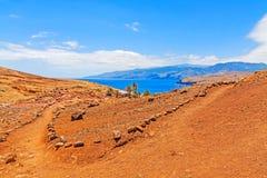 Madeira hiking - Ponta de Sao Lourenco Stock Image