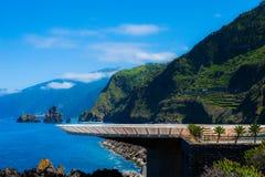 Madeira-Hubschrauber-Landeplatz Stockfotografie