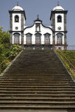 Madeira - Igreja de Nossa Senhora do Monte Church royalty free stock photo
