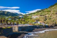 Madeira-Insel, von Faial-Dorf Lizenzfreies Stockfoto