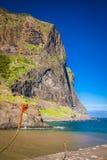 Madeira-Insel, von Faial-Dorf Lizenzfreie Stockfotografie