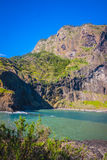 Madeira-Insel, von Faial-Dorf Stockfoto