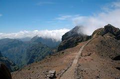 Madeira Island. Pico do Arieiro in Madeira Island, Portugal Royalty Free Stock Photo