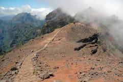Madeira Island. Pico do Arieiro in Madeira Island, Portugal Stock Image