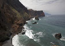 Madeira Island and Atlantic Ocean Stock Photography