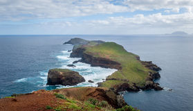 Madeira island eastern tail hiking route Stock Image