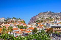 Madeira island. Fishing village Camara de Lobos, Portugal. Madeira island. Fishing village Camara de Lobos, Portugal Stock Photos