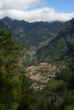Madeira island mountains Stock Photography