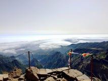 Madeira island. Pico do Areeiro Royalty Free Stock Image