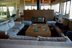 Madeira Island: The Porto do Santo golf club house royalty free stock image