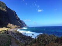 Madeira island. Porto Moniz Royalty Free Stock Photos