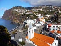 Madeira Island, South Coast, Camara de Lobos, Portugal royalty free stock photo