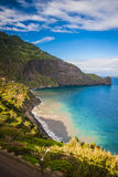 Madeira island in sunny day at the winter, portugal Stock Photography