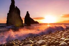 Madeira-Küste lizenzfreie stockbilder