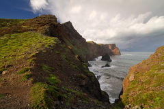 Madeira landscape. Scenic landscape on the island of Madeira royalty free stock photo