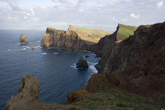 Madeira landscape Stock Photo