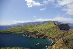 Madeira landscape. Landscape of Madeira island, Portugal Royalty Free Stock Photos