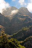 Madeira landscape with mountains Stock Image