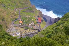 Madeira landscape Royalty Free Stock Images