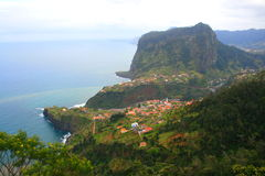Madeira landscape, portugal Royalty Free Stock Photo
