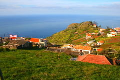 Madeira landscape, portugal Royalty Free Stock Photos