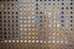 Madeira marrom trançada Imagem de Stock