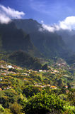 Madeira mountain scenery, Lombo da Serra dos Judeu Royalty Free Stock Images