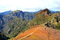 Madeira mountains Stock Images